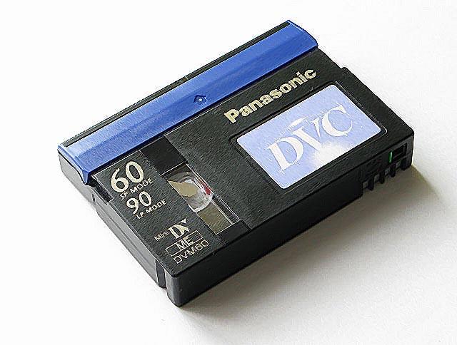 videokasseta MiniDV - Оцифровка видеокассет: типы видеокассет