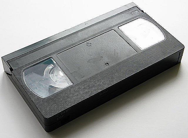 videokasseta VHS - Оцифровка видеокассет: типы видеокассет